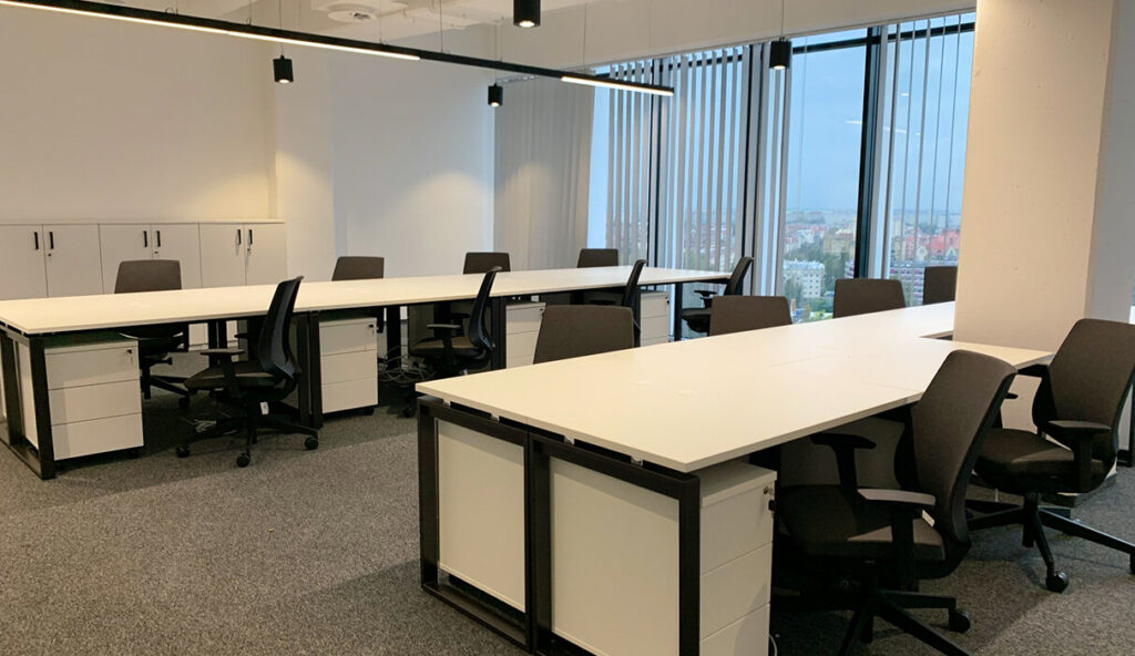 Przestrzeń coworkingowa Silver Office Center