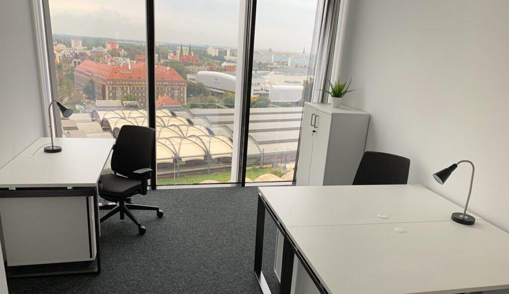 Prywatne biuro serwisowane Silver Tower Center